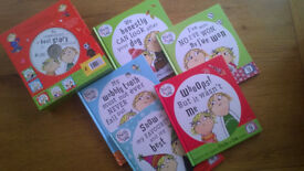 Charlie and Lola- 5 books+ CD box set