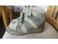Used but in quiet good condition GENUINE Isabel Marant Sneakers Size5
