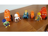 Bob the Builder 9 piece character set