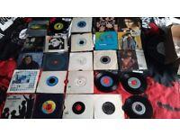 "25 indie pop punk 80s late 70s 7inch vinyl singles lot 7"" stiff records new order beatles ian d"