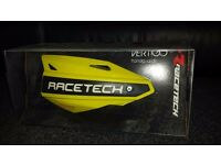 Race tech vertigo hand guards motocross enduro bikes