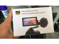 4K DSLR External Monitor