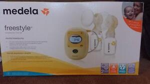 Medela freestyle double breastpump