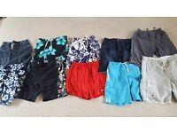 Waist 34 mens summer shorts