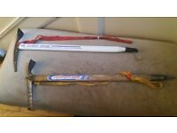 2 ICE AXES--SELL TOGETHER OR SINGLY