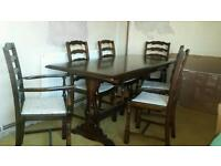 Dinning Room table and 6 chairs