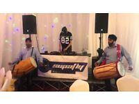 Asian DJ Asian Roadshow Asian Wedding DJ Bhangra DJ Bhangra , Dhol Players, PA Hire, Screen Hire