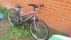 "Girls Universal 24"" Mountain bike"