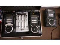 Numark axis 9 cdj mixing decks.
