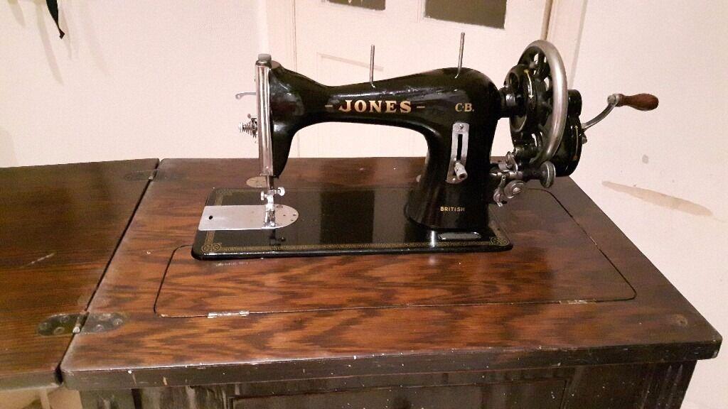 Jones Cb Sewing Machine
