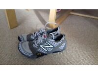 A new pair of ladies' New Balance Maximus trainers, with Vibram soles, size 6.5 (UK 40)