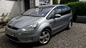 S-Max 2.0 TDCi Titanium, 1 owner, FSH from Ford dealer, extras include tow bar and parcel shelf/net