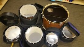 Mapex armory 4 Drum kit with velvetone snare and stool (7013329) £850 ONO collection only