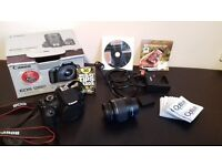 Cannon EOS1200 DSLR camera set