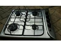 Indesit gas hob with electric ignition