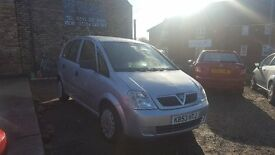 2004 Vauxhall Meriva 1.6 life, 5 Doors, Petrol, Silver, 100k Miles, PSH, MOT, 1 Owner