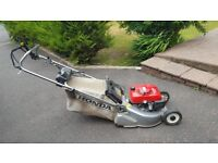 Honda lawnmower in full working condition. Regularly serviced by Cyril Johnston