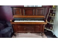 FREE TO COLLECTOR Angelus Brinsmead Pianola and scrolls.