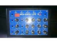 MFB Synth Lite II analogue synthesizer