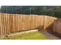 CHEAP TREATED TIMBER FENCING
