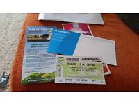 1 3 day Creamfields Camping Ticket
