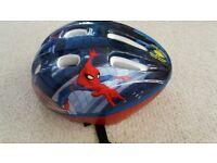 Childs Spiderman cycle helmet 52-56cm