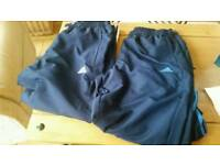 2 mens addidas tracksuit bottoms