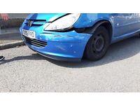 Peugeot 307 spares or repair.
