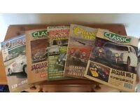 Collection of 5 Old Car/ Classic Car Magazines