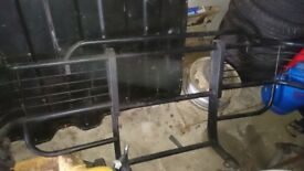 Large wrap round bull bar