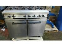 Falcon dominator 6 burner cooker