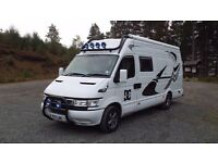 Motor race home / iveco daily low mileage excellent condition reluctant sale