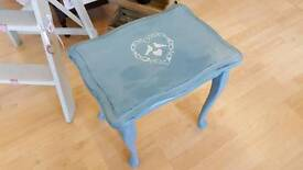 Small Shabby Chic Distressed Table