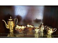 Vintage Gild 15 Piece Coffee Set