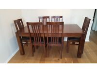Very solid Table & Chairs in superb condition