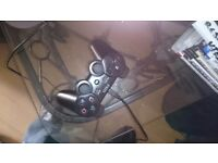 Playstation 3, PS3 slim console controler and games bundle