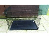 Four Paws Deluxe Double-Door Crate With Divider Panel, Xx-Large