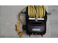 kartcher wall mountable hose reel