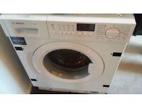 Bosch series 8 model no WIS28441GB integrated washing machine