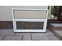 Mahogony Double Glazed Window