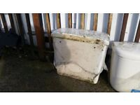 BRAND NEW CISTERN WITH FULL FITTINGS - OLD STOCK