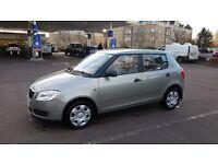 Skoda Fabia 1.2 HTP 70hp petrol 2008 September ,mot end of September the car is smooth drive