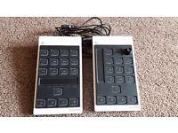 CMC TP & CH Cubase MIDI controllers !LIKE NEW!