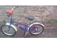 "PUKY Kids bike, Pirate themed, 18"" wheels"