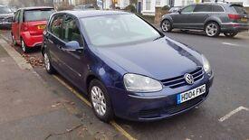 VW Golf mk5 1.6 Petrol FSi Dark Blue