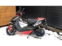 Aprila sr 50 lc 2002 full log book no mot