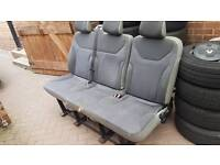 FREE TRIPLE SEAT FROM VIVARO TRAFIC PRIMASTAR MINIBUS