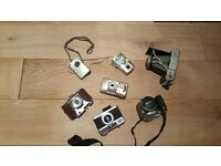 Selection of old camera