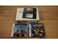 Nintendo DS Lite with two games (Used/Boxed)