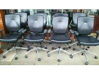 Office chairs senator real leather